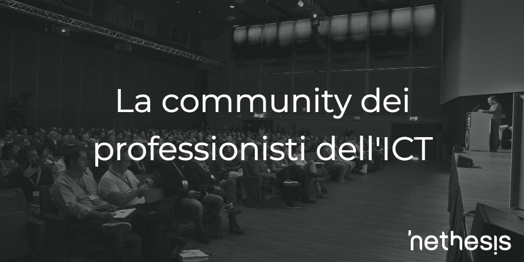 La Community Dei Professionisti Dell'ICT