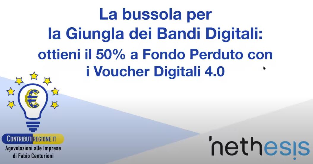Occhio Al Bando: Smart Working E Voucher Digitali Per Aziende ICT