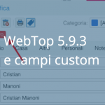 Personalizza WebTop come vuoi tu con etichette, campi e pannelli custom
